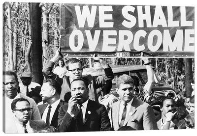 Martin Luther King, Jr Canvas Art Print