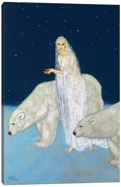 The Ice Maiden, 1915 Canvas Art Print