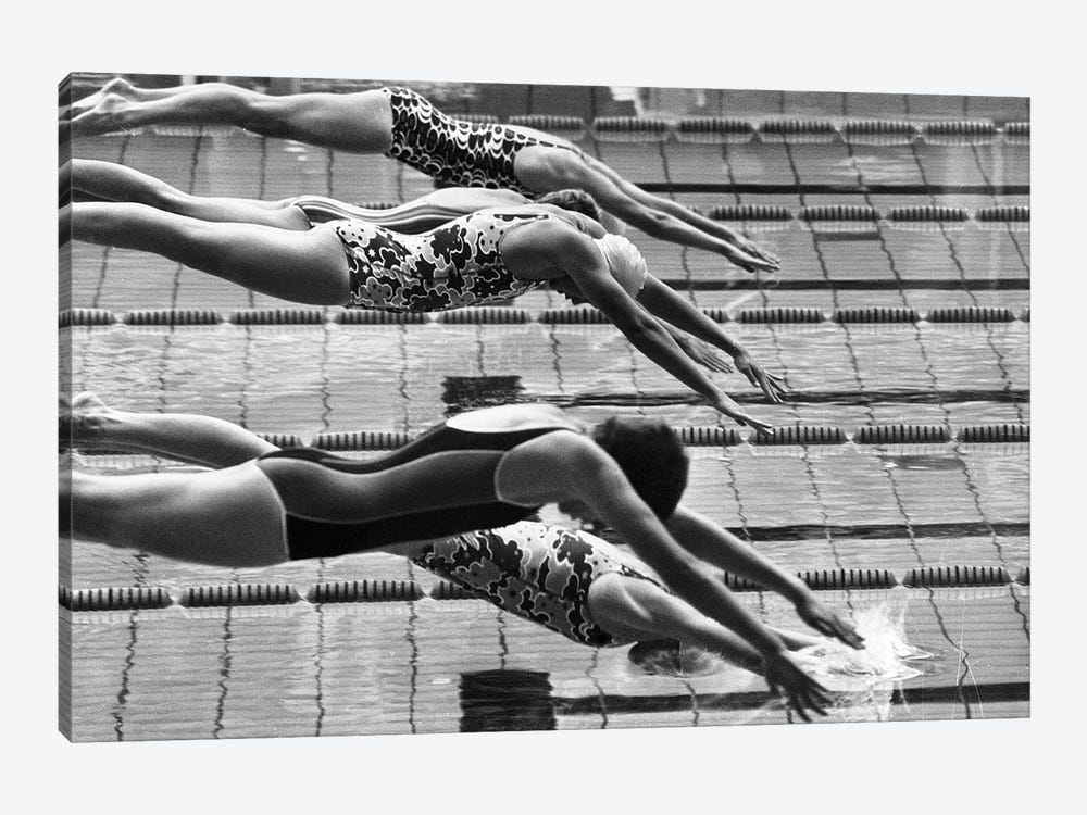 Olympic Games, 1972 by Unknown 1-piece Canvas Art Print