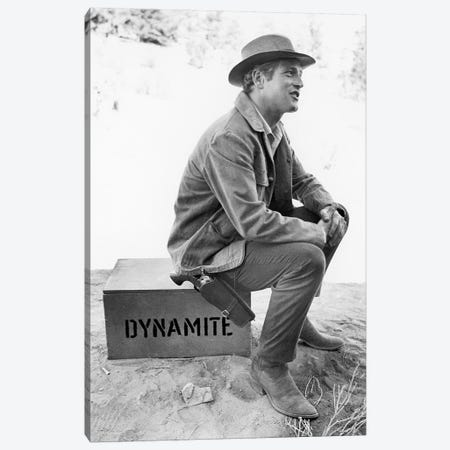Paul Newman (1925-2008) Canvas Print #GER327} by Unknown Canvas Print