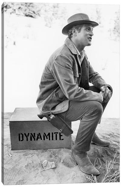 Paul Newman (1925-2008) Canvas Art Print