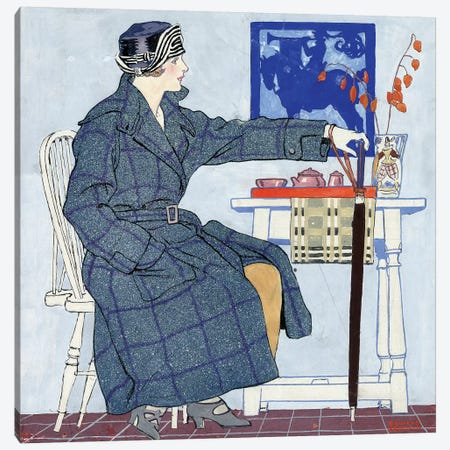 Ad: Clothing, C1915 Canvas Print #GER32} by Edward Penfield Canvas Artwork