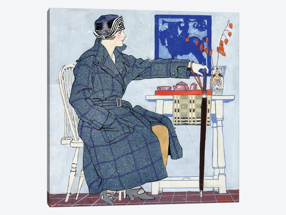Ad: Clothing, C1915 by Edward Penfield 1-piece Canvas Art