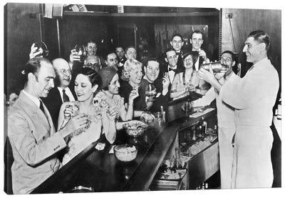 Prohibition Repeal, 1933 Canvas Art Print