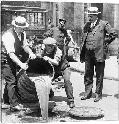 Prohibition, C1921 Canvas Art Print