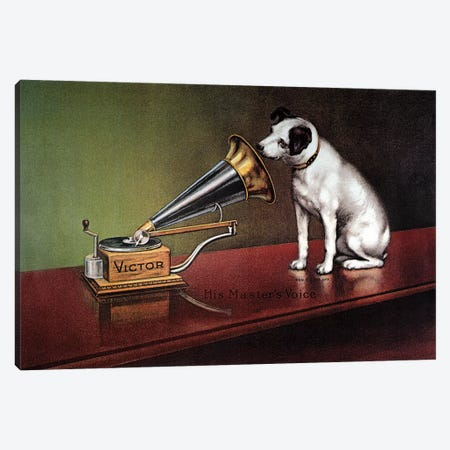 RCA Victor Trademark Canvas Print #GER336} by Unknown Canvas Wall Art