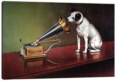 RCA Victor Trademark Canvas Art Print