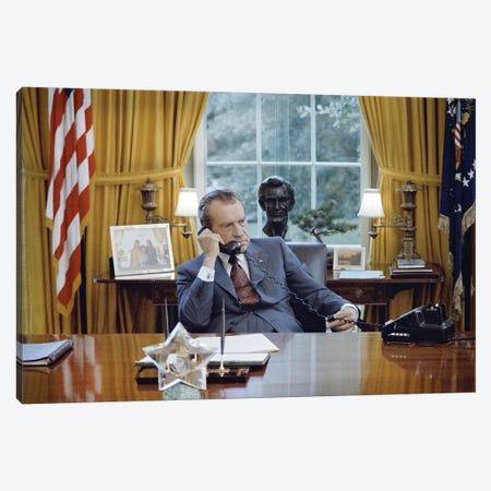 Richard Nixon (1913-1994) Canvas Print #GER337} by Unknown Canvas Art