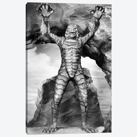 Creature From The Black Lagoon, 1953 Canvas Print #GER345} by Unknown Canvas Art Print