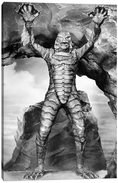 Creature From The Black Lagoon, 1953 Canvas Art Print