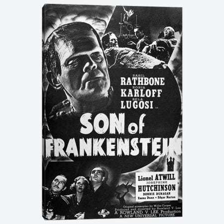 Son Of Frankenstein, 1939 Canvas Print #GER353} by Unknown Canvas Art Print