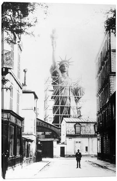 Statue Of Liberty, Paris Canvas Art Print