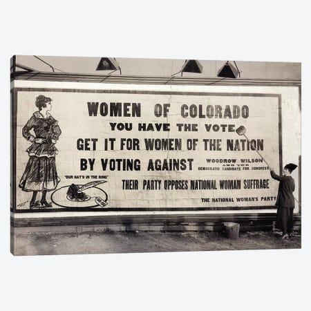 Suffrage Billboard, 1916 Canvas Print #GER355} by Unknown Canvas Art