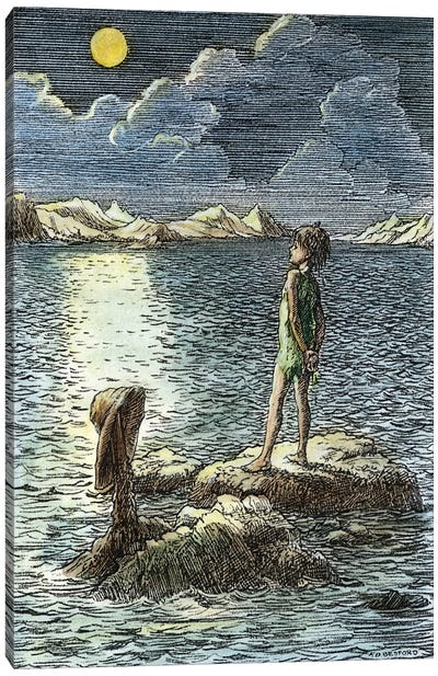 Barrie: Peter Pan, 1911 Canvas Art Print