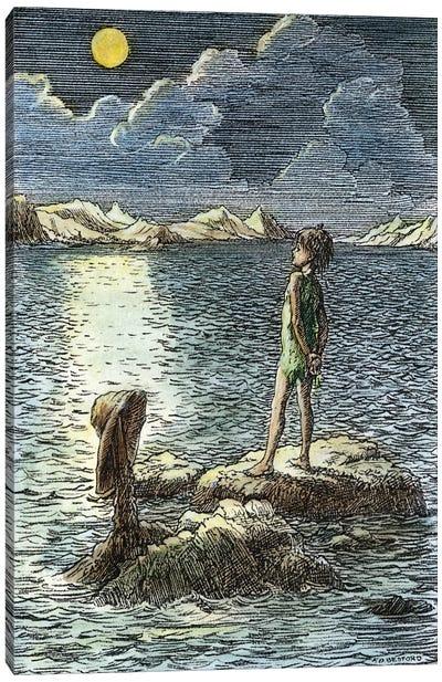 Barrie: Peter Pan, 1911 Canvas Art Print