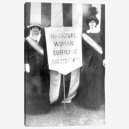 Suffragettes, 1913 Canvas Print #GER360} by Unknown Canvas Artwork