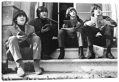 The Beatles, 1965 Canvas Art Print
