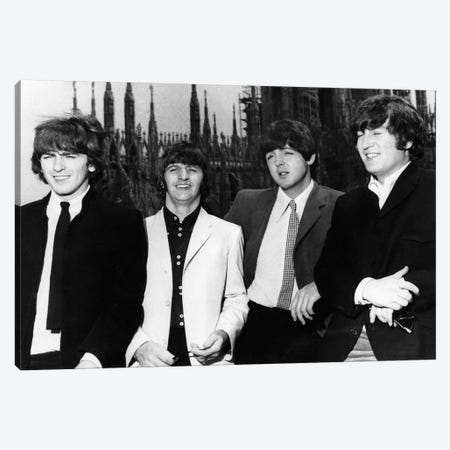 The Beatles, 1965 Canvas Print #GER368} by Unknown Canvas Artwork
