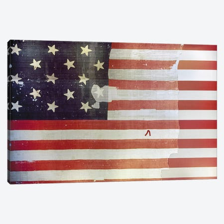The Star Spangled Banner Canvas Print #GER372} by Unknown Art Print