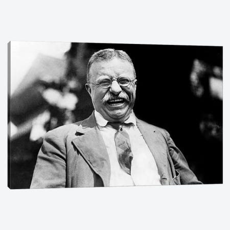 Theodore Roosevelt (1858-1919) Canvas Print #GER374} by Unknown Canvas Art