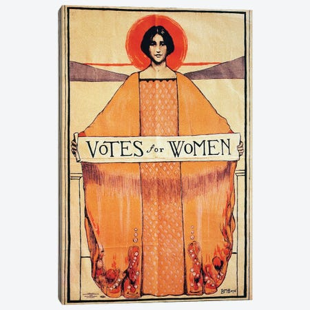 Votes For Women, 1911 Canvas Print #GER379} by Unknown Art Print