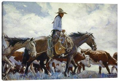 Koerner: Cowboy, 1920 Canvas Art Print