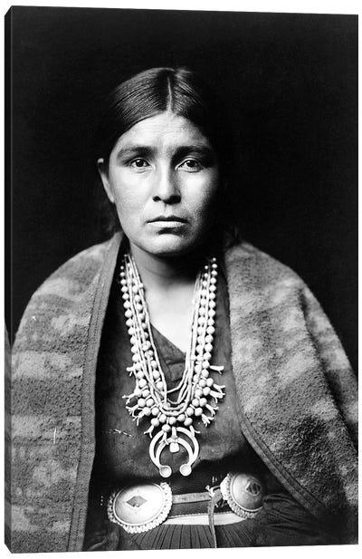 Navajo Woman, C1904 Canvas Art Print