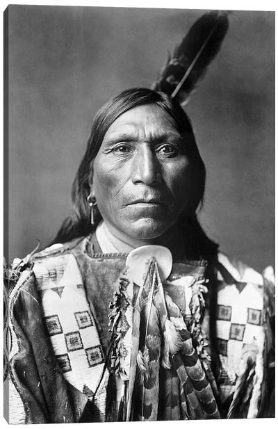 Sioux Man, C1907 Canvas Art Print