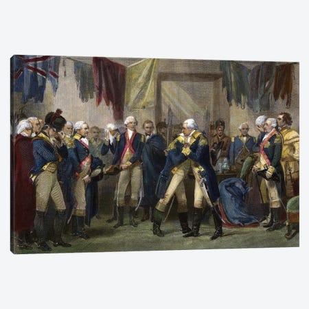 George Washington (1732-1799) Canvas Print #GER431} by Granger Canvas Art