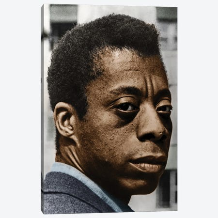 James Baldwin Canvas Print #GER433} by Granger Canvas Artwork