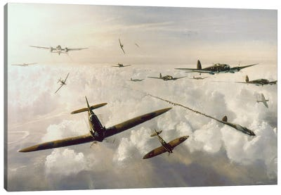 WWII: Battle Of Britain Canvas Art Print