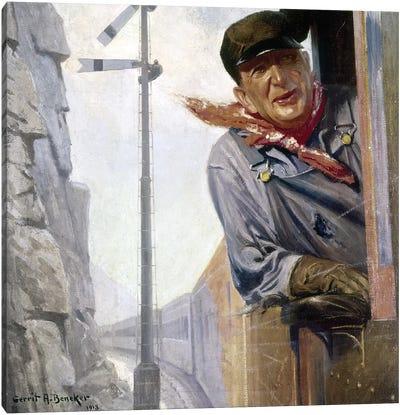 Beneker: The Engineer, 1913 Canvas Art Print