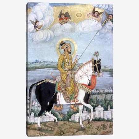 Shah Jahan (1592-1666) Canvas Print #GER48} by Govardhan Canvas Print