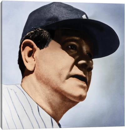 Babe Ruth (1895-1948) Canvas Art Print