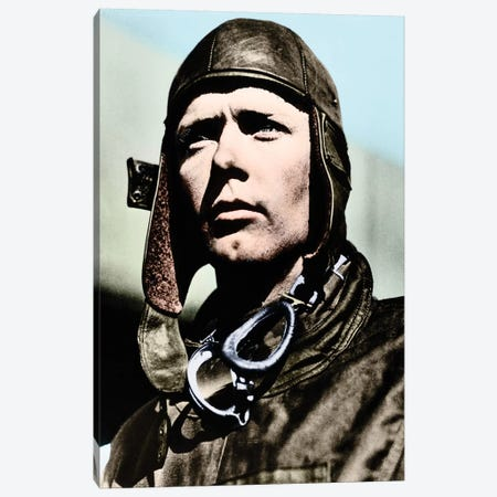 Charles Lindbergh (1902-1974) Canvas Print #GER51} by Granger Canvas Wall Art