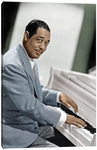 Duke Ellington (1899-1974) Canvas Art Print