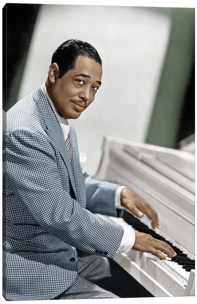 Duke Ellington (1899-1974) Canvas Art Print