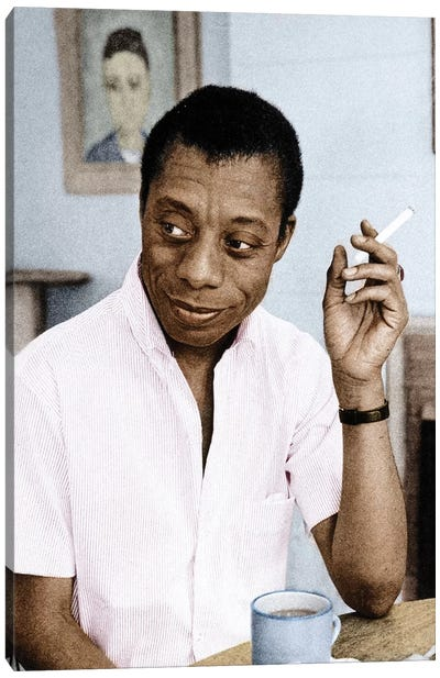 James Baldwin (1924-1987) Canvas Art Print