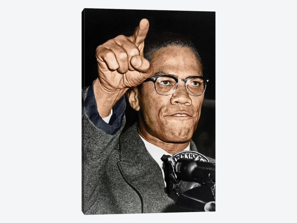 Malcolm X (1925-1965) by Granger 1-piece Canvas Art