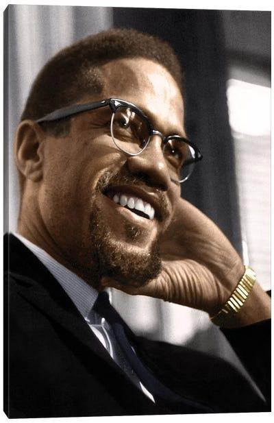 Malcolm X (1925-1965) Canvas Art Print