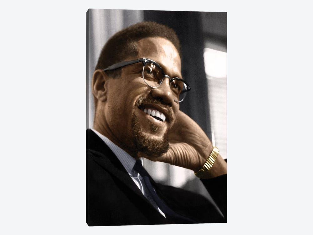 Malcolm X (1925-1965) by Granger 1-piece Canvas Art Print