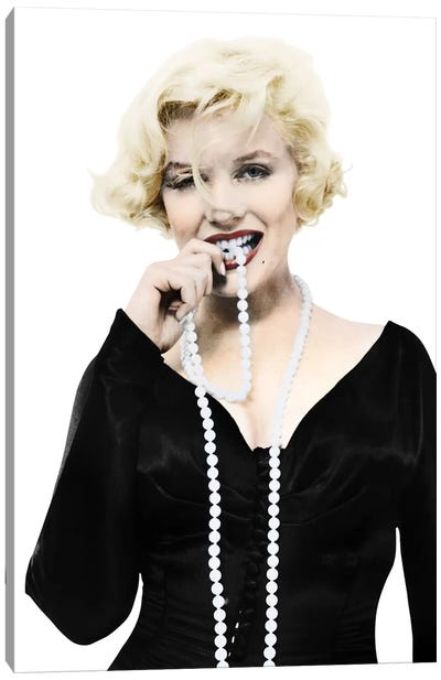 Marilyn Monroe (1926-1962) Canvas Art Print