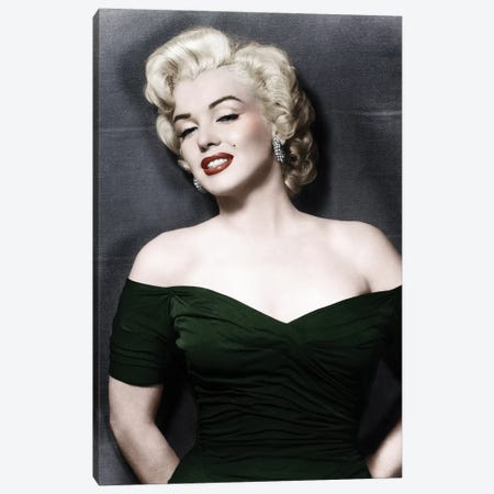 Marilyn Monroe (1926-1962) Canvas Print #GER64} by Granger Canvas Art