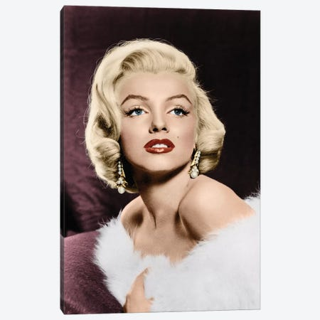 Marilyn Monroe (1926-1962) Canvas Print #GER65} by Granger Canvas Wall Art