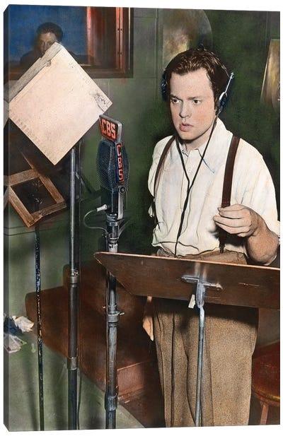 Orson Welles (1915-1985) Canvas Art Print