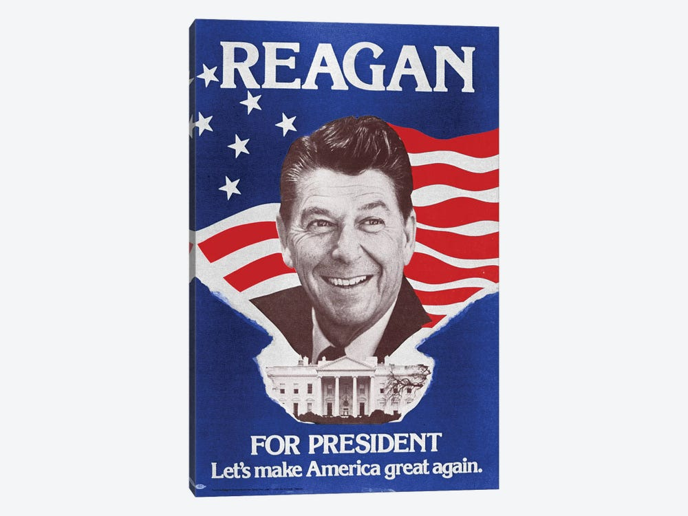 Ronald Reagan (1911-2004) by Granger 1-piece Canvas Wall Art