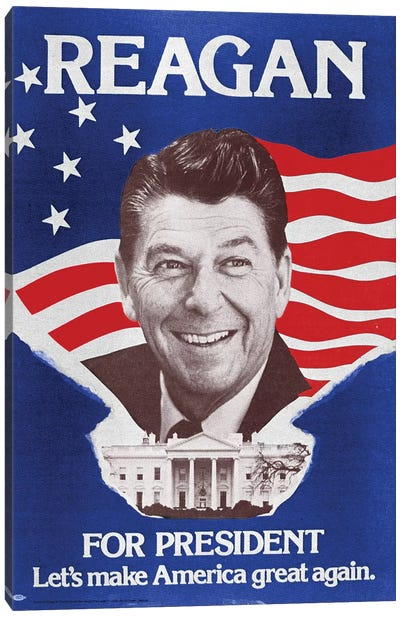 Ronald Reagan (1911-2004) Canvas Art Print