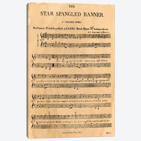 Star Spangled Banner, 1814 Canvas Print #GER72} by Granger Canvas Art