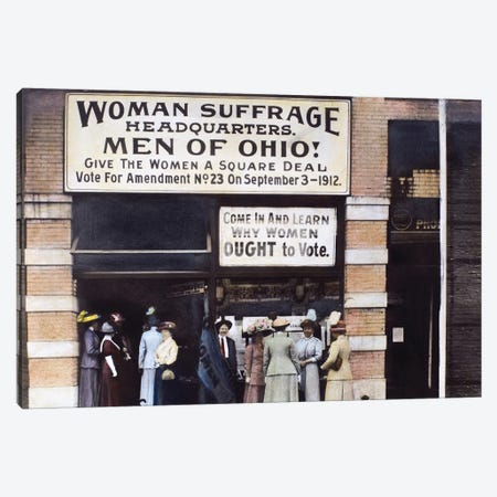 Suffrage Headquarters Canvas Print #GER73} by Granger Canvas Artwork