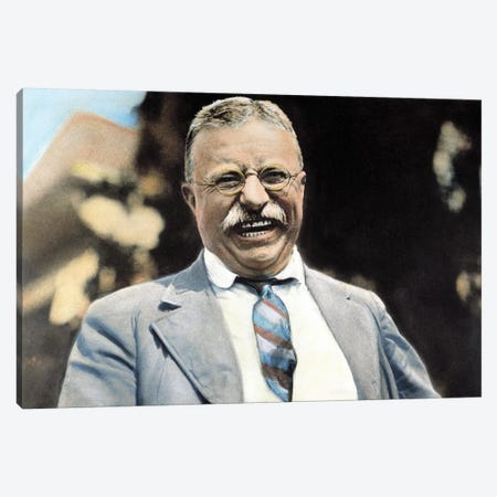 Theodore Roosevelt (1858-1919) Canvas Print #GER74} by Granger Canvas Art Print